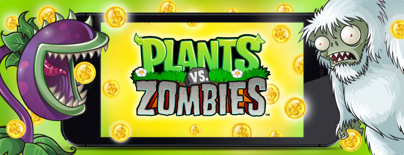 Plants vs. Zombies Update for iPhone, iPad and iPod touch.
