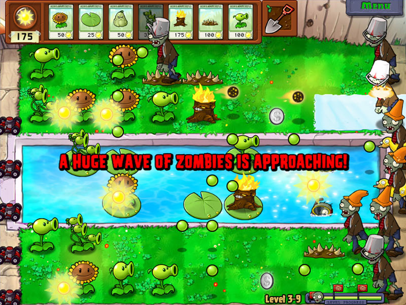 Zap zombies through day night a swimming pool and more